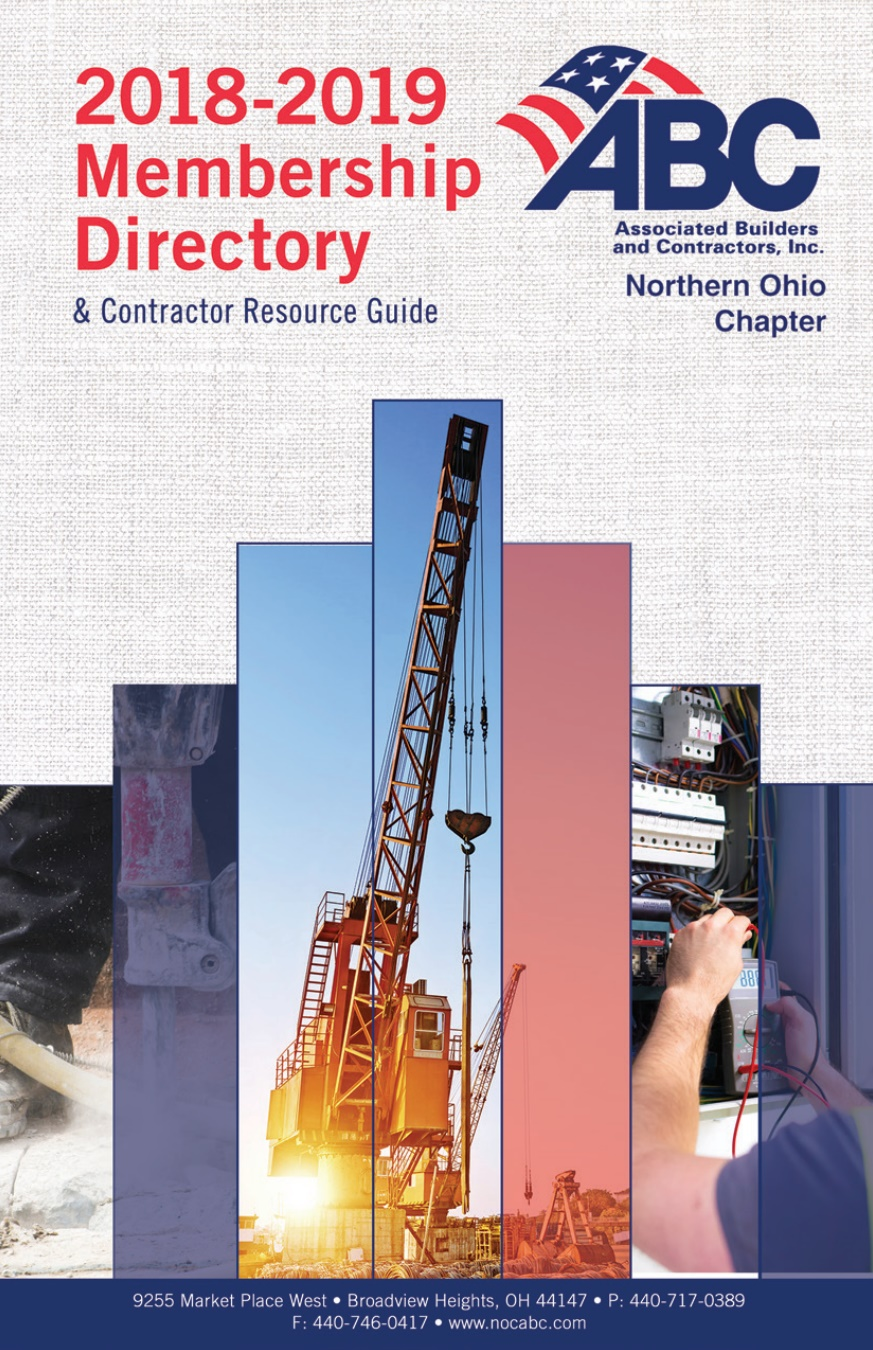 ABC Northern Ohio Chapter 2018-2019 Membership Directory